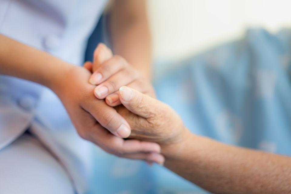 Pflegedienst Hände