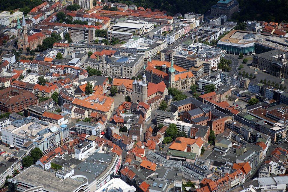 Braunschweig Luftaufnahme