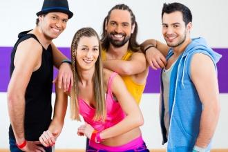 Gruppe von Tänzern